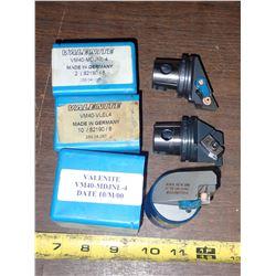 (3) Valenite VM40 Units