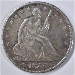 1855-O SEATED LIBERTY HALF XF