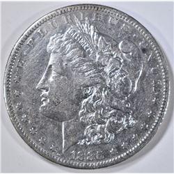 1885-S MORGAN DOLLAR, AU