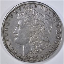 1888-S MORGAN DOLLAR, XF