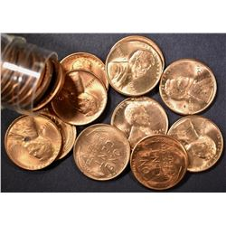 BU ROLL OF 1946-S LINCOLN CENTS