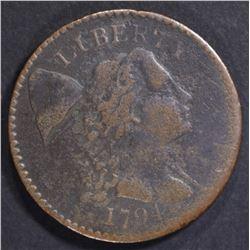 1794 LARGE CENT VF POROUS