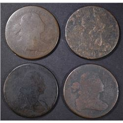 2 1803, 1805, & 1806 LARGE CENTS AG