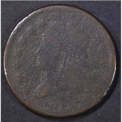 1813 LARGE CENT VG CORROSION