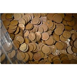 500-CIRC MIXED S-MINT LINCOLN WHEAT CENTS