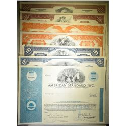 7-DIFFERENT CANCELLED STOCK CERTIFICATE