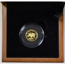 2008 ROYAL MINT ONE POUND 1.24gm GOLD COIN