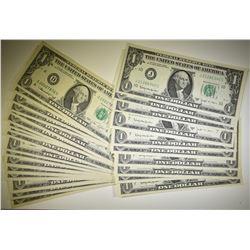 31 $1 FRN CRISP UNC