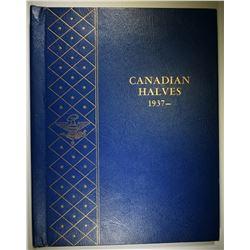 CANADA HALF DOLLAR SET  1937-69