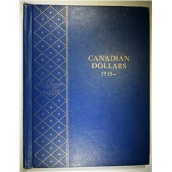 CANADA SILVER DOLLAR SET  1935-66