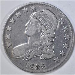 1832 BUST HALF DOLLAR  XF/AU