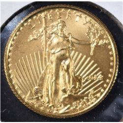 2014  1/10th OUNCE GOLD AMERICAN EAGLE