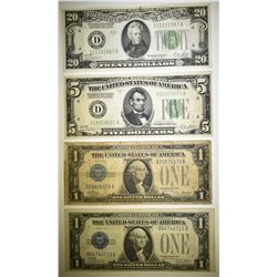 1928 CURRENCY LOT: