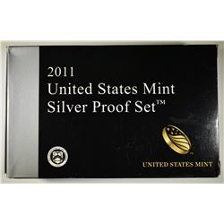 2011 U.S. SILVER PROOF SET IN ORIG PACKAGING