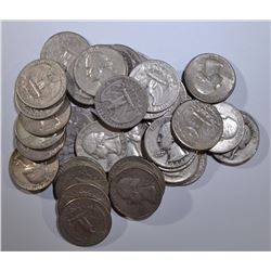 40-90% SILVER WASHINGTON QUARTERS