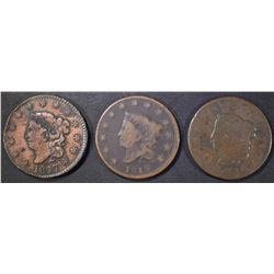 1816, 17 & 19 LARGE CENTS