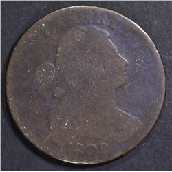 1802 LARGE CENT GOOD scratches