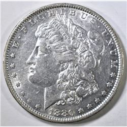 1880-O MORGAN DOLLAR AU/BU