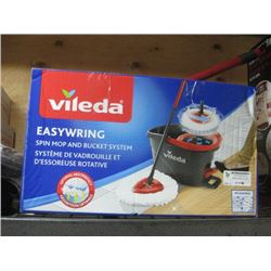 VILEDA SPIN MOP AND BUCKET SYSTEM