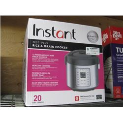 INSTANT RICE AND GRAIN COOKER
