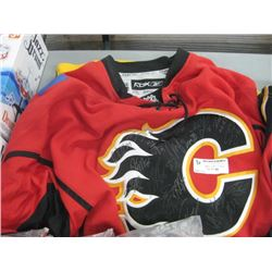 RBX CALGARY FLAMES JERSEY SIZE XL