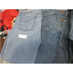 SET OF 3 7 FOR ALL MANKIND DENIM JEANS 34