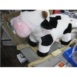 COW ROCKING TOY