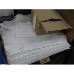 TISSUE PAPER MULTIPLE SIZES AND PLASTIC BAG