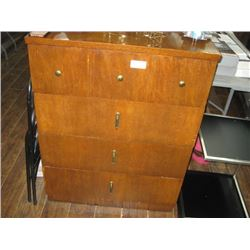 WOODEN DRESSER WITH DRAWERS