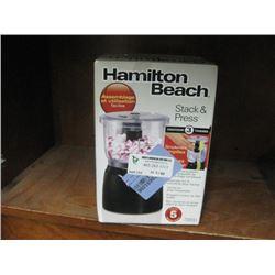HAMILTON BEACH STACK AND PRESS