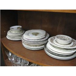 ASSORTED DINNER PLATES