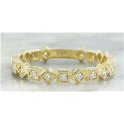 0.30 CTW Diamond 14K Yellow Gold Ring