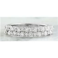 0.75 CTW 14K White Gold Diamond Ring
