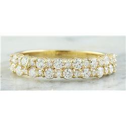 0.75 CTW 14K Yellow Gold Diamond Ring