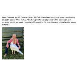 Chromey, Jacey - Market Poultry