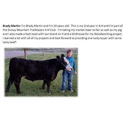 Martin, Brady - Market Beef
