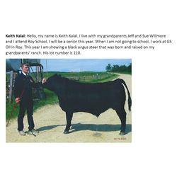 Kalal, Keith - Market Beef