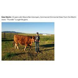 Martin, Kate - Market Beef