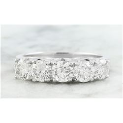 1.90 CTW Diamond 18K White Gold Ring