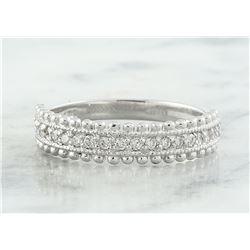 0.28 CTW Diamond 14K White Gold Ring