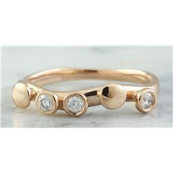 0.15 CTW 14K Rose Gold Diamond Ring