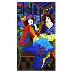 "Patricia Govezensky- Original Acrylic on Canvas ""Emma & Amelia"""