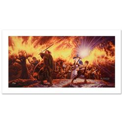 """""""Journey In The Dark"""" Limited Edition Giclee on Canvas by The Brothers Hildebrandt. Numbered and Han"""