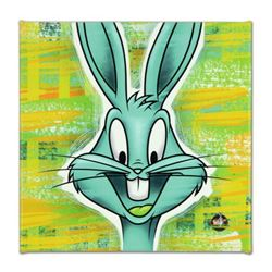 """Looney Tunes, """"Bugs Bunny"""" Numbered Limited Edition on Canvas with COA. This piece comes Gallery Wra"""
