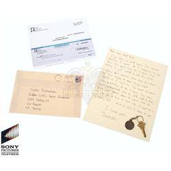 Future Man (TV) – Josh Futturman's Letter, Check & House Key – FM199