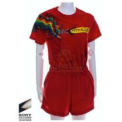 "Future Man (TV) – Tiger's (Eliza Coupe) Unicorn ""Dicathlon"" Outfit – FM398"