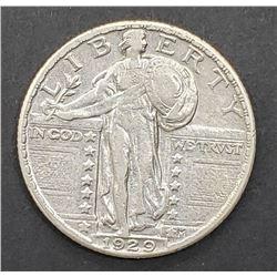 1929 STANDING LIB QTR XF