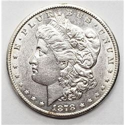 1878-S MORGAN DOLLAR AU/BU
