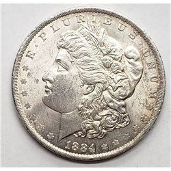 1884-O MORGAN DOLLAR UNC