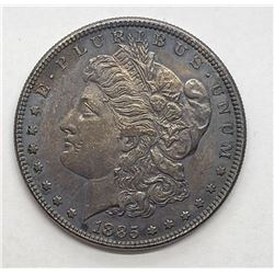 1885 XF/AU MORGAN DOLLAR